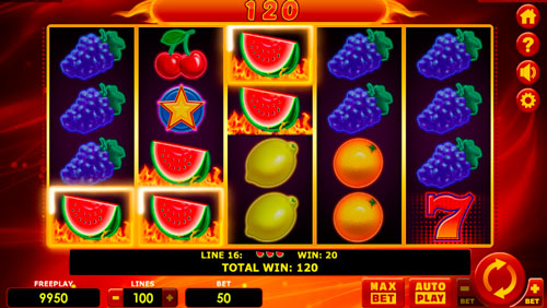 Как играть в слотHot Fruits 100